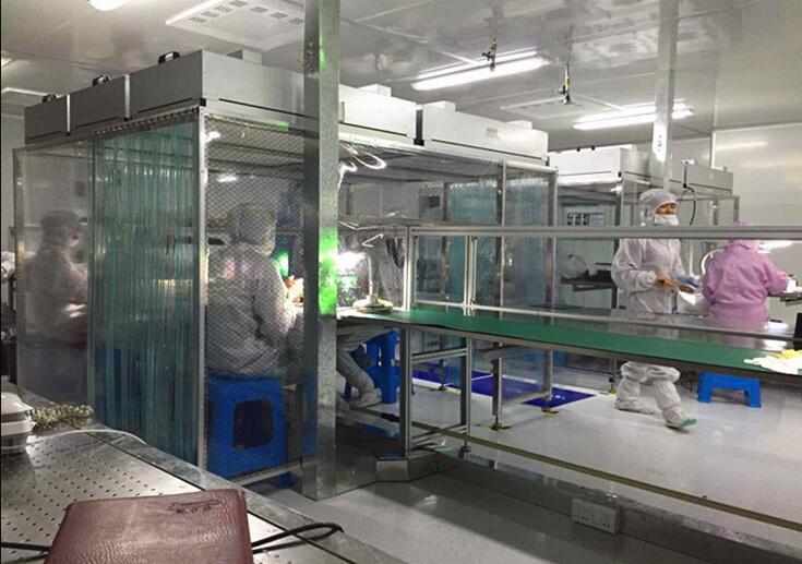 PCB厂洁净棚设计 光电厂洁净棚