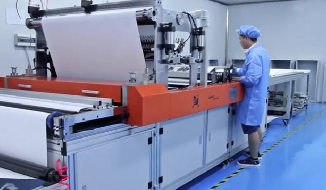 高效过滤器生产设备视频展示
